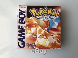 Pokemon Rosso Rossa Completo Italiano Per Game Boy Color Advance SP Leggi Dentro