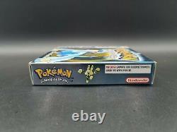 Pokemon Silberne Edition Mint Gameboy Color Nintendo Pal Ovp Cib Boxed Rar Top