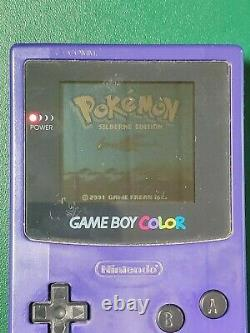 Pokémon Silberne Edition (Nintendo Game Boy Color, 2001) Für Sammler