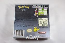 Pokemon Silver (Nintendo Game Boy Color GBC) NEW Factory Sealed Near Mint