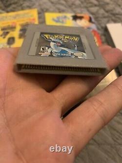 Pokemon Silver Version CIB (Game Boy Color, 2000) Original Complete In Box RARE