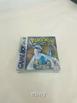 Pokemon Silver Version FACTORY SEALED NEW Gameboy Color
