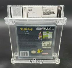 Pokémon Silver Version (Game Boy Color, 2000) GBC Wata Graded 8.0 A+ Sealed