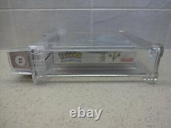 Pokemon Silver Version (Game Boy Color, 2000) New Sealed Graded WATA 7.0A