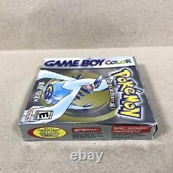 Pokemon Silver Version (Game Boy Color) Original Near Complete In Box With Guide