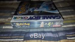 Pokemon Silver Version (Nintendo Game Boy Color, 2000) Factory Sealed! GBC