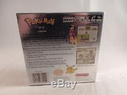 Pokemon Silver Version (Nintendo Game Boy Color, 2000) NEW, SEALED! (#G026)