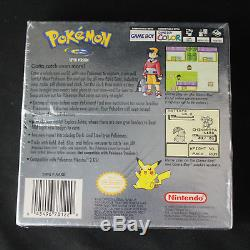 Pokemon Silver Version Nintendo Game Boy Color 2000 New, Factory Sealed withH-Seam