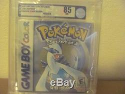 Pokemon Silver Version (Nintendo Game Boy Color, 2000) New Sealed VGA 85 RARE