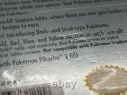 Pokemon Silver Version (Nintendo Game Boy Color) NEW FACTORY SEALED! H-SEAM