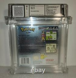 Pokemon Silver Version WATA 8.5 A+ GRADED FACTORY SEALED NEW Gameboy Color