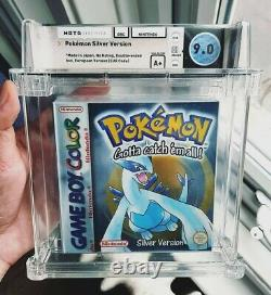 Pokemon Silver WATA 9.0 A+ Factory Sealed Gameboy Colour