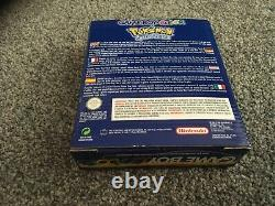 Pokemon Special Edition Nintendo Gameboy Color. Boxed. Beautiful Condition