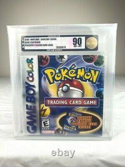 Pokemon Trading Card Game 2000 Game Boy Color GBC VGA 90 Gold NM+/MT Sealed