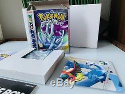 Pokemon Version Cristal Game Boy Color Mint VF