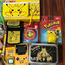 Pokemon Vintage Pikachu Toy Collection 3dsxl Gameboy Color Tomy Figures And More