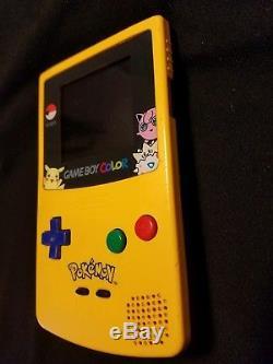 Pokemon Yellow Nintendo Gameboy Color Pokemon Yellow Blue Red & Gold Game Lot