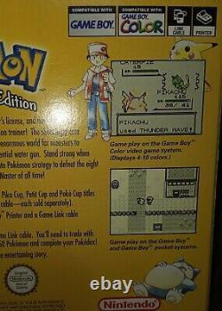 Pokemon Yellow Special Pikachu Edition Game Boy Colour (Incl. Box + Manual)