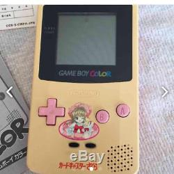 RARE! UNUSED Cardcaptor Sakura Game Boy Color F/S from JAPAN withTracking