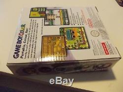 RARER FACTORY SEALED NINTENDO UK gameboy color console