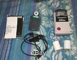RARISSIMO DA COLLEZIONE Game Boy Camera DELUXE Printer + Camera + Game Boy Color