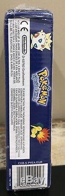 Rare Factory Sealed Nintendo GameBoy Color Pokemon Pikachu Yellow Edition Europe