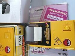 Rare Nintendo gameboy color pokemon edition and gameboy printer pikachu bundle