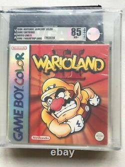 Red strip New Factory Sealed Wario Land 2 VGA85 Nintendo Gameboy Color HOLYGRAIL