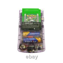 Refurbished Clear Purple Nintendo Game Boy Color Console GBC System + Game Card