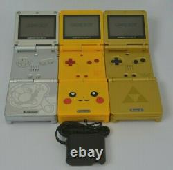 Refurbished Nintendo Game Boy Advance SP AGS-001 Choose Your Color GBA Console