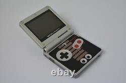 Refurbished Nintendo GameBoy Advance SP AGS-101 Brighter Screen NES Edition