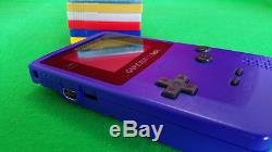 Refurbished Nintendo GameBoy Color withPokemon Red Yellow Blue Gold Silver Crystal