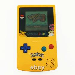 Refurbished Pikachu Limited Edition Nintendo Game Boy Color Console + Game Card