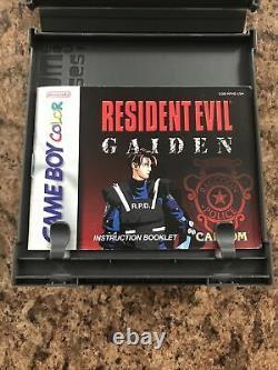 Resident Evil Gaiden (Nintendo Game Boy Color, 2002) Complete