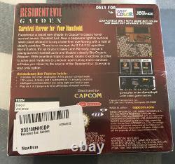 Resident Evil Gaiden (Nintendo Game Boy Color) Factory Sealed RARE