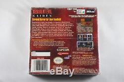 Resident Evil Gaiden (Nintendo Game Boy Color GBC) NEW Factory Sealed