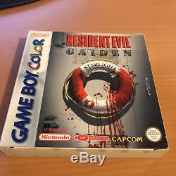 Resident Evil Gaiden (Nintendo Game Boy Color) PAL CIB Complete Free Shipping