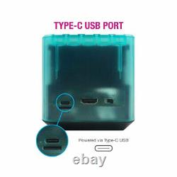 RetroN Sq HD Console Hyper Beach per Game Boy, Game Boy Color e Game Boy Advance