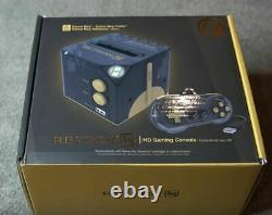 RetroN Sq HD Gaming Console (BlackGold) for Gameboy, Game Boy Color and Advance