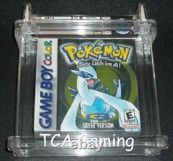 SEALED A+ GBC Silver Version WATA 7.5 First Party H-Seam Game Boy Color Pokemon