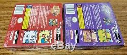 SEALED! The Legend of Zelda Oracle of Ages & Seasons For Nintendo Game Boy Color