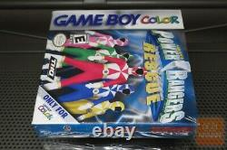 Saban's Power Rangers Lightspeed Rescue (Game Boy Color, GBC) FACTORY SEALED