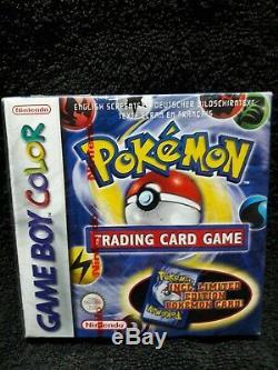 Sealed Pokemon Trading Card Game (Nintendo Game Boy Color, 2000) -European Vers