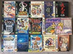 Set De 105 Jeux Gameboy Color Complet Avec Manuel + 2 Consoles Collector
