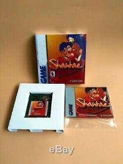 Shantae Boxed Game Boy Color Gbc Best Repro A++ Grade Read