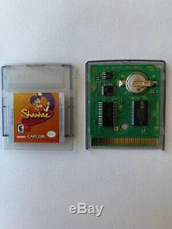 Shantae For Game Boy Color (GBC) Mint Collector Owned Authentic Working/Saves