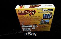 Shantae (Game Boy Color, 2002) H-SEAM SEALED Factory Sealed New