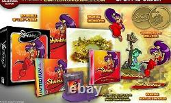 Shantae (Game Boy Color) GBC Collector's Edition Limited Run with card NEW