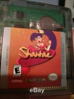 Shantae Gameboy Colour GBC Complete In box Extremely Rare