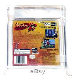 Shantae Nintendo Game Boy Color VGA 85+ NM+ Gold Capcom 2002 Factory Sealed